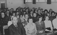 Blick in die Gemeinde um 1965