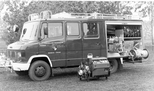 Neues Löschgruppenfahrzeug LF 8